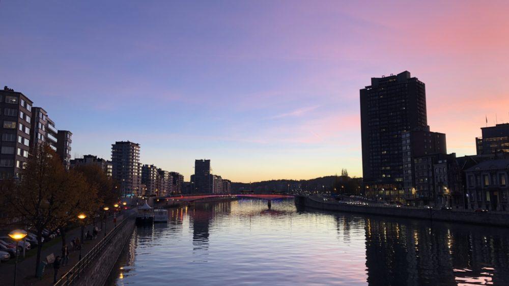 Où admirer les plus beaux couchers de soleil à Liège?
