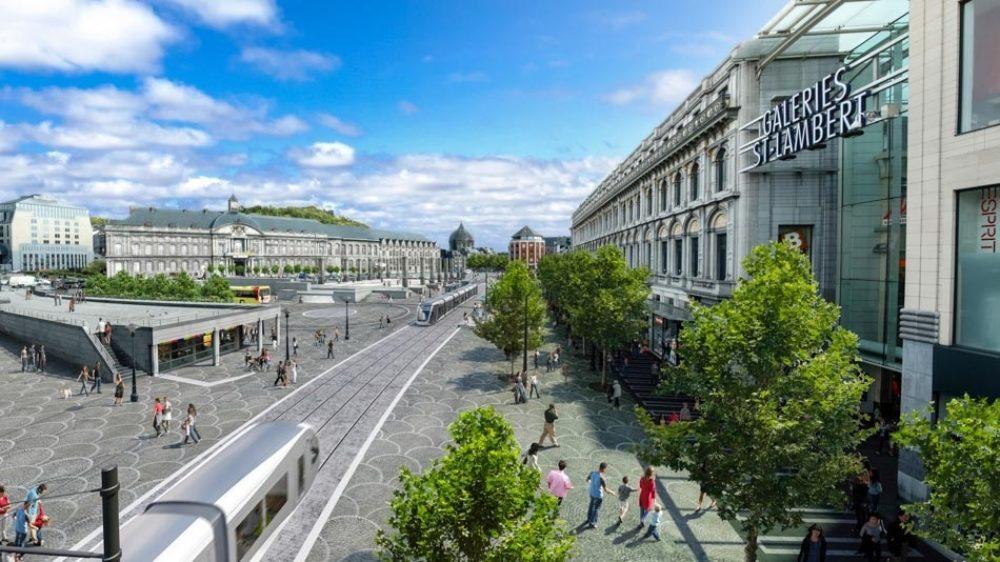 Le tram à Liège